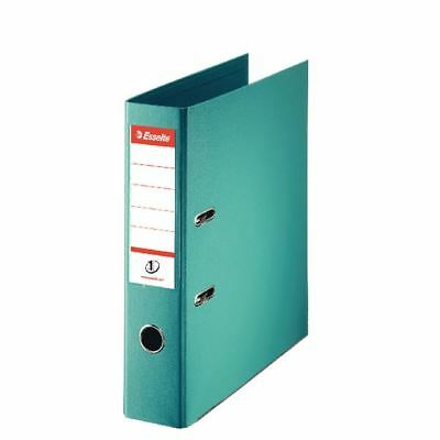 Esselte A4 Polypropylene 75mm Turquoise Lever Arch File (Pack of 10) [ES06581]
