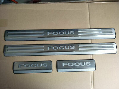 Ford Focus Mk2 (05-11) Stainless Steel Kick Plate Door Sill Protectors