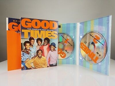 Good Times - The Complete First Season (DVD, 2003, 2-Disc Set) free shipping