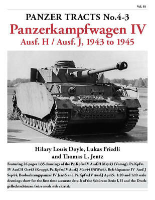 Panzer Tracts No.4-3 - Pz.Kpfw.IV Ausf.H and J