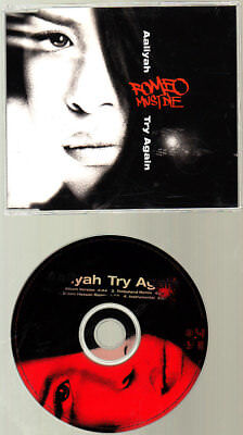 Music CD, Aaliyah, Try Again, 4 Mixes