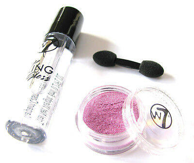 4bbbc0be793 W7 Lip Bling - Clear Lip Gloss + Glitter Topper - Choose Glitter Shade - No