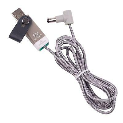 Ripcord USB Power for 6V Omron M7 Intelli IT Blood Pressure Monitor