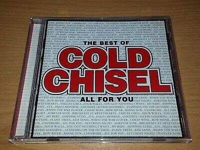 Cold Chisel All For You The Best Of Cd 2011 Vgc.