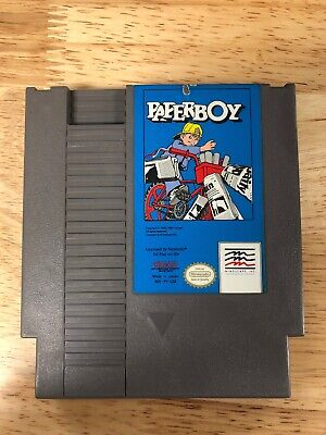 NINTENDO NES PAPERBOY Video Game Cartridge - $17 99 | PicClick
