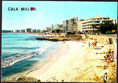 Used  Postcard Spain, Cala Millor, Mallorca, stamped 1989