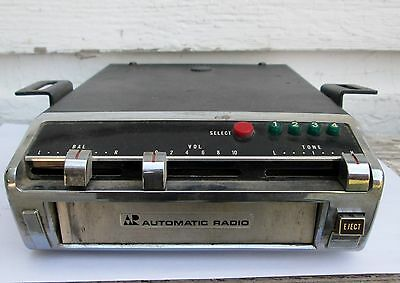 Vintage Car Truck  Automatic Radio 8 Track Tape Player Stereo Model Spa-5000B