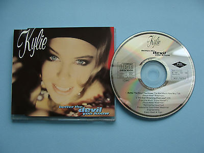 Kylie Minogue - Better The Devil You Know Rare CD Single