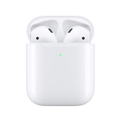 Apple AirPods White 2019  with Wireless Charging Case *NEW+Apple warranty!