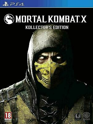 Mortal Kombat X - Kollector's Edition [PS4] New & Sealed!! Scorpion Statue!!