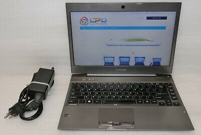 Toshiba Portege Z930 Intel Core i7 3667U 2.0Ghz 6GB 120GB SSD Camera Windows 10
