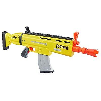 Nerf Fortnite AR-L Motorised Dart Blaster Ages 8 Years+