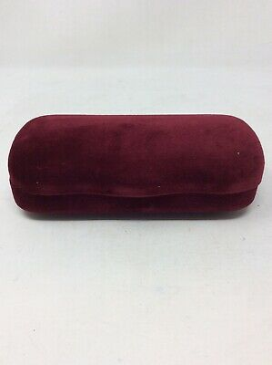 GUCCI Velvet Clamshell Glasses Case With Dust Cloth and Sleeve