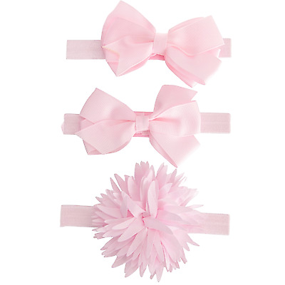 Nursery Time Baby Girls Pack of 3 Headbands