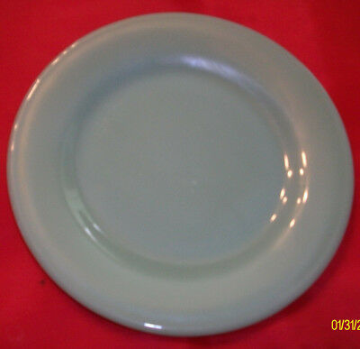 4 Fire King Jadite Restaurant ware salad/bread plate 6 3/4 inch