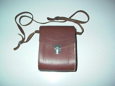 Shop For Cheap Vintage Swiss Made Kern Aarau Brown Leather Binoculars Case Med Homa Cameras & Photo Strap