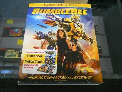 Brand New Sealed Bumblebee (DVD/Blu ray) with Digital