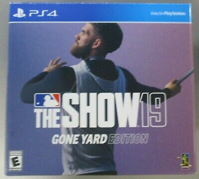 Playstation PS4 The Show 19 Gone Yard Edition Box New Era 9Fifty Hat Snapback