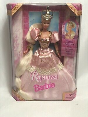 1997 Mattel Rapunzel Magic Fairy Tales Collection Vintage Barbie Doll New In Box