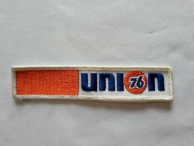 NEW 2 3//4 X 3 INCH UNION 76 GASOLINE SHIELD IRON ON PATCH FREE SHIPPING