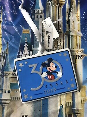 2019 Disney Parks Hollywood Studios 30th Anniversary Mickey Mouse Ornament New