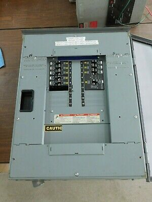 SQUARE D BREAKER PANEL BOARD 30A & 20A Breakers Switches Shutoff SEE PHOTOS