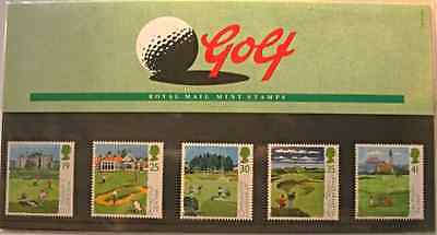 Royal Mail Scottish Golf courses presentation pack stamps, 1994, GB no. 249, MNH