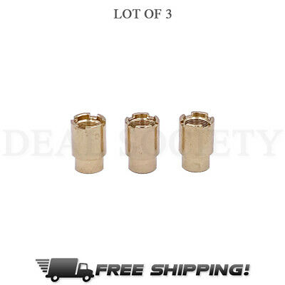 UNIVERSAL 510 THREAD Magnetic Adapter Cap 3-Pack FREE SAME DAY FREE