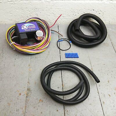 Cool 12 Circuit Ez Wiring Harness Chevy Mopar Ford Street Hot Rod Wiring Digital Resources Counpmognl