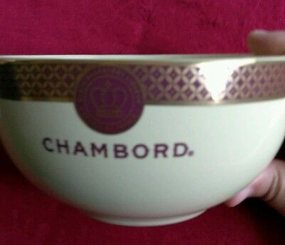 Chambord Black Raspberry Liqueur Bowl Royale De France collectible advertising