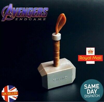 End Game Avengers Mjolnir Thor Captain America Topper Figure Marvel UK Seller