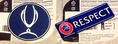 2013-19 SUPER CUP & RESPECT Official LEXTRA SportingID Football Badge Patch Set