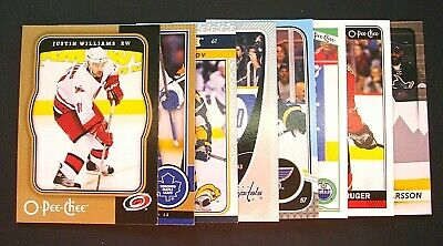 2006-07/2017-18 Ud O-Pee-Chee Lot Of 25 Regular Base Cards U Pick Up Finish Sets