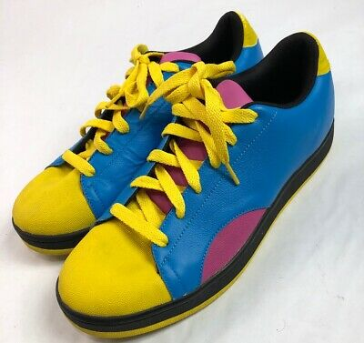 eb20599a9a531 BBC ICE CREAM Shoes Pink Yellow Green USA Mens 10 Board Flip ...