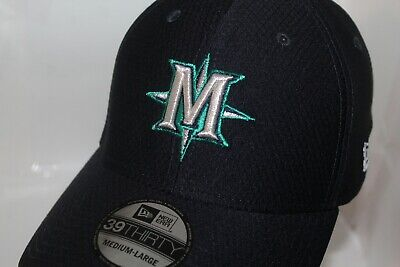 check out 9c15b 9fc6e Seattle Mariners New Era MLB 2019 Hex Tech Spring Training 39Thirty,Hat,Cap
