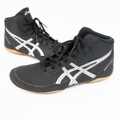 timeless design 82992 9b708 Asics Mens Matflex Black Wrestling Shoes J504N Size 9 EU 41.5
