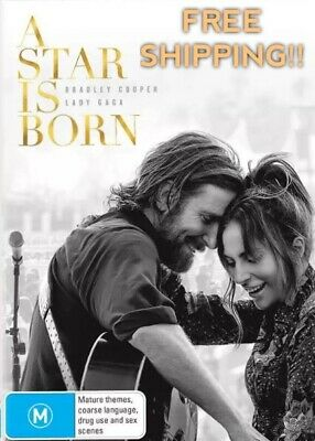 A Star Is Born DVD Lady Gaga Reg 4 FREE POST! (2018) New! Sealed!