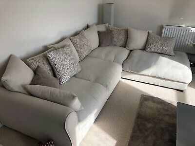 online store 97a17 9ee03 DFS LEFT HAND Corner Sofa Bed Only 12 Months Old Immaculate ...