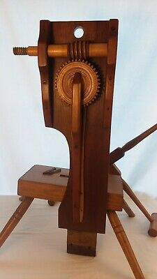 SKEIN WINDER, SPINNING WHEEL, WOOD YARN WINDER modern crafted hardwood