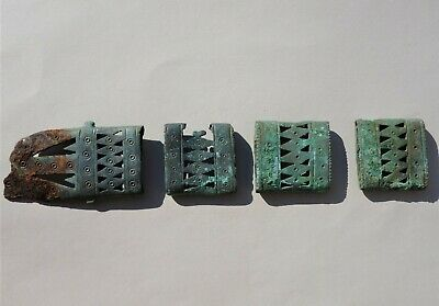 ancient late Roman-Middle Ages an openwork panel of lozenges,scabbard of sword