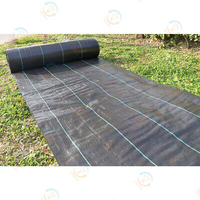 100gsm Weed Control Fabric Ground Cover Membrane Garden landscape