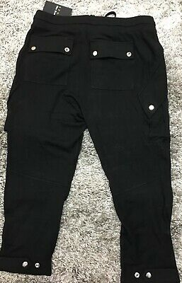 Ladies sports the kooples sweet fleece and snaps Joggers Size Uk Large