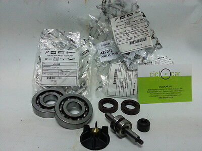 Set Original Piaggio Bearings + Oil Seals + Water Pump Scooter 50 all 2t