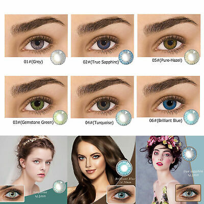 Vibrant Color Contacts Eye Lenses Colorblends Cosmetic Makeup Eye Lens USA