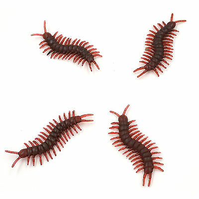 Joke Insects Fake Prank Centipede Plastic Funny Prank Toy - New
