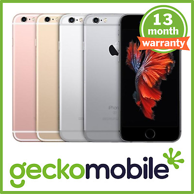 Apple iPhone 6s - UNLOCKED - 16/32/64/128GB - ALL COLOURS - Smartphone