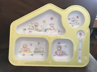 Cath Kidston baby / child melamine feeding tray, New