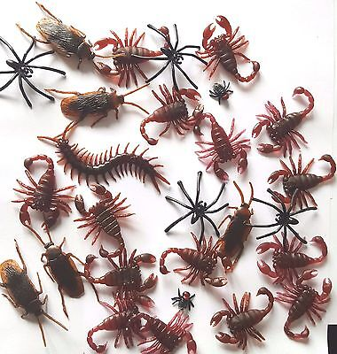 Joke Insects - Massive Collection - Fake Prank Cockroach Centipede Spider + MORE