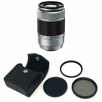 Fujinon XC50-230mm f4.5-6.7 OIS Silver II with KamKorda Filter Kit 58mm