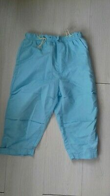Girls Kids Club Age 4-5 Years Turquoise Elasticated Trousers Immaculate Conditio